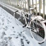 大賞・雪まばゆし動けぬ自転車後押しし/3句だけ俳句コンテンスト